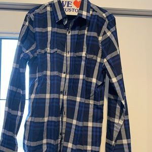 Mens large casual button down
